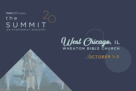 Promo banner for the summit on stepfamily ministry October 1-2, 2020
